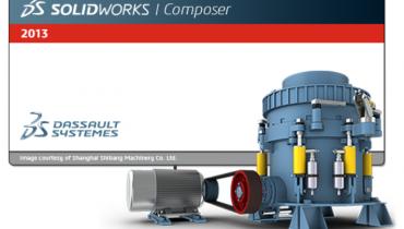 3DVIA Composer blir til SolidWorks Composer