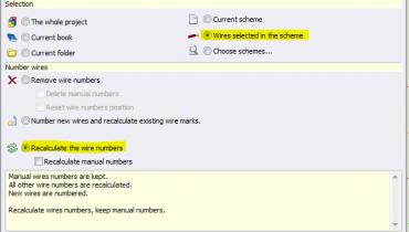 SW Electrical: Modifikasjon av eksisterende design (nummerering av ledninger)