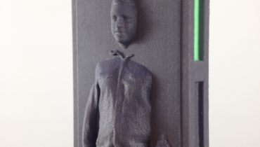 Den beste julegaven lager du selv! Med en 3D-printer og Star Wars friskt i minne.
