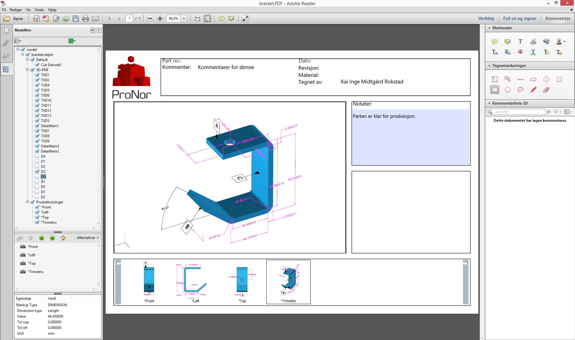 SOLIDWORKS 3D-PDF 2