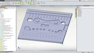 SWOOD CAM, NC program som er spesielt utviklet for trearbeider.