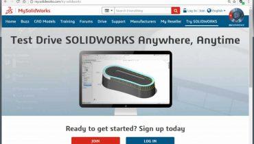 Test SOLIDWORKS med en gratis online trial