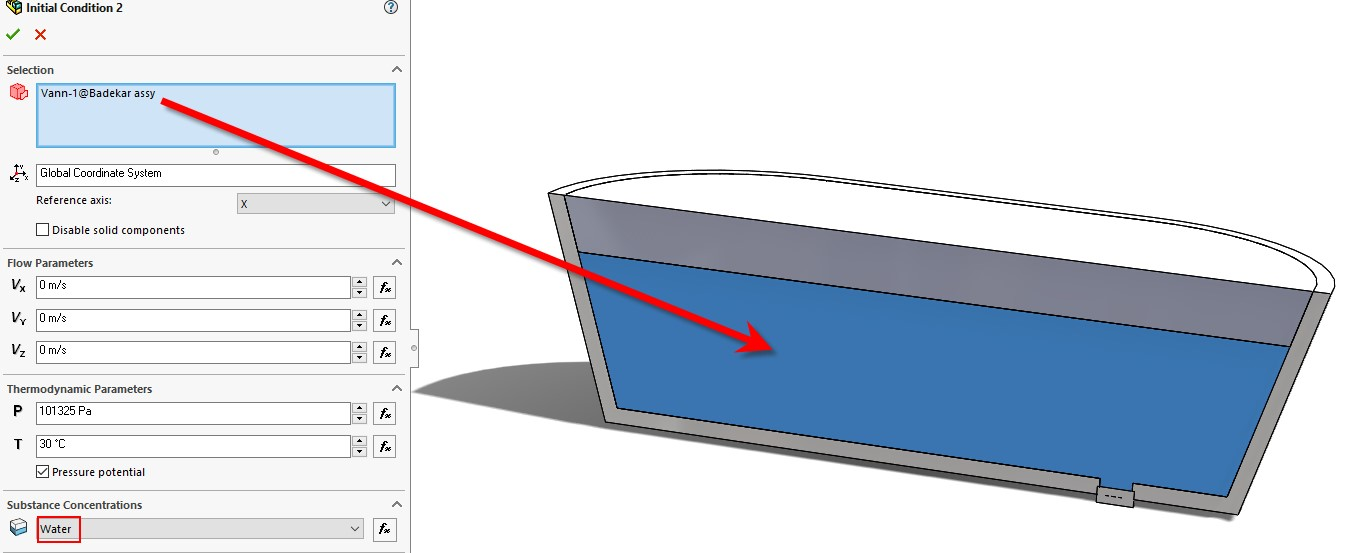 solidworks flow free surface 07