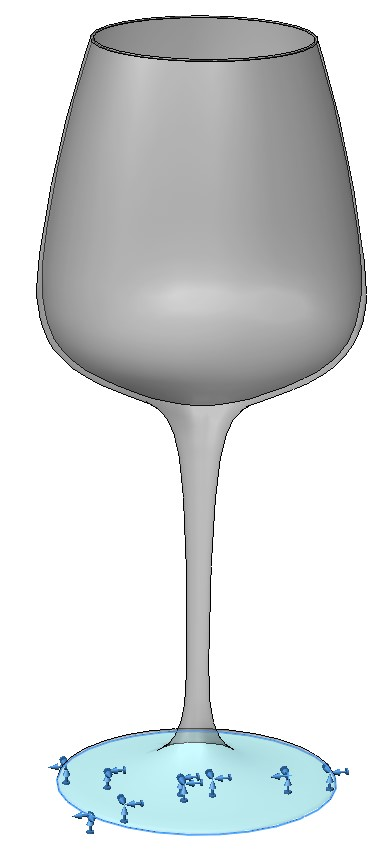 frekvens for å knuse glass solidworks simulation 05