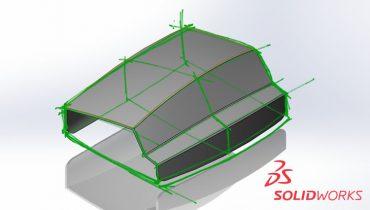 Bruk SOLIDWORKS Pen Sketch For å tegne rett på 3D-modellen