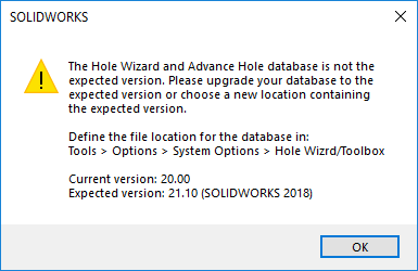 solidworks pdm error message