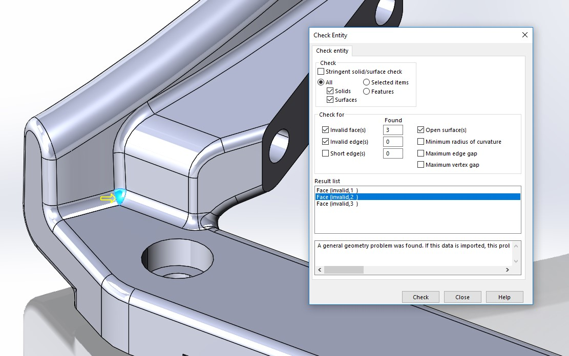 solidworks use of check 02